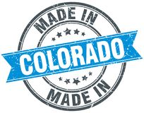 Made In Colorado Stamp Vector Illustration