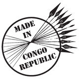 Made in Congo Republic Royalty Free Stock Photos