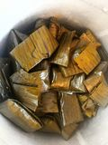 Chicken Tamales. México traditional food. Made with corn, filled with chicken or pork there& x27;s a traditional food in Latin America stock photo