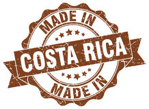 Made in Costa Rica seal Stock Photography