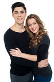 Made for each other, love couple. Royalty Free Stock Photography