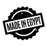 Made In Egypt rubber stamp Stock Images