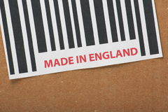 Made in England Royalty Free Stock Photos