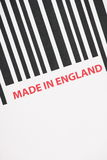Made in England Stock Photo