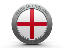 Made in England Stock Photography