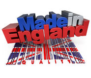 Made in England, quality Stock Images