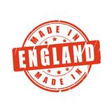 Made in England vector stamp Stock Photo