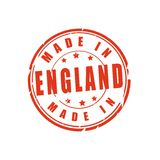 Made in England vector stamp Stock Images