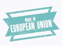 Made in EU Royalty Free Stock Photo