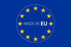 Made in europe Stock Images