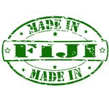 Made in Fiji. Rubber stamp with text made in Fiji inside,  illustration Royalty Free Stock Image