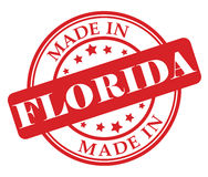 Made in Florida stamp. Vector illustration on white background Stock Photo