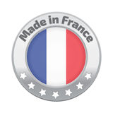 Made in France badge Stock Image