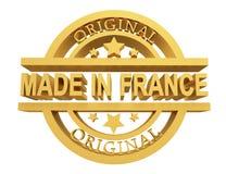 Made in France, 3d illustration vector illustration
