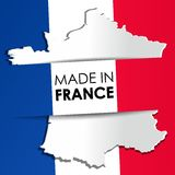 Made in France Flag Stock Photos