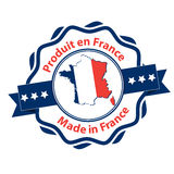 Made in France -  French Language Stock Image