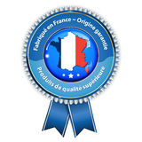 Made in France, French Origin Guaranteed, Product of superior quality Royalty Free Stock Image