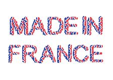 Made in France Royalty Free Stock Images