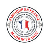 Made in France. Premium Quality, because we care Royalty Free Stock Photography