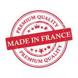 Made in France, Premium Quality  printable banner / sticker. Made in France, Premium Quality printable grunge label / stamp. Print colors CMYK used Stock Photo
