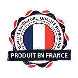 Made in France, Trusted Brand, Premium Quality Royalty Free Stock Images
