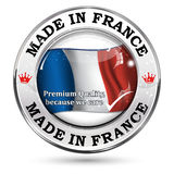 Made in France, Trusted Brand, Premium Quality Royalty Free Stock Photography