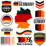 Made in Germany vector illustration