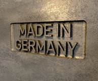 Made in germany Stock Image