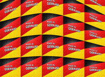 Made in germany background Stock Images
