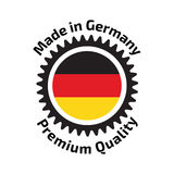 Made in Germany badge Stock Photo