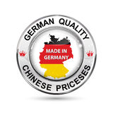 Made in Germany button Stock Photos