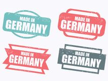 Made in Germany Stock Photos