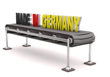 Made in Germany Line Royalty Free Stock Images