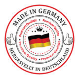 Made in Germany. Premium Quality Stock Photo