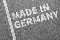 Made in Germany product quality marketing company Royalty Free Stock Photography