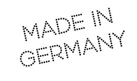 Made In Germany rubber stamp Royalty Free Stock Photography