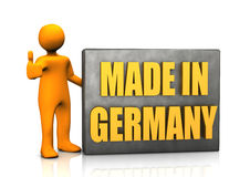 Made in Germany sign Stock Photo
