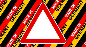 Made in germany sign Stock Images