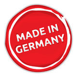 Made in Germany sign royalty free illustration