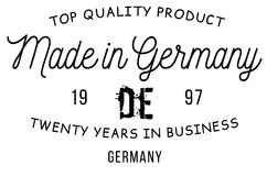 Made in Germany stamp Stock Photography