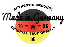 Made in Germany stamp Royalty Free Stock Photo
