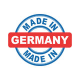 Made in Germany. Vector emblem flat Stock Photography