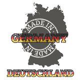 Made in Germany Royalty Free Stock Photos