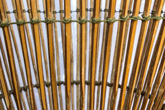 Made for hand. Bamboo is line, Made for hand,For background Royalty Free Stock Photo