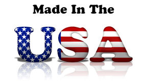 Free Made In The USA Royalty Free Stock Images - 21928229