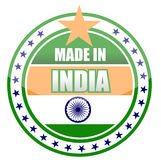 Made in india Royalty Free Stock Photos