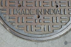 Made in India Stock Photography