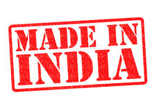 MADE IN INDIA Royalty Free Stock Photography