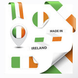 Made In Ireland Collection Stock Photo