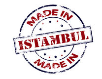 Made in Istambul Stock Images